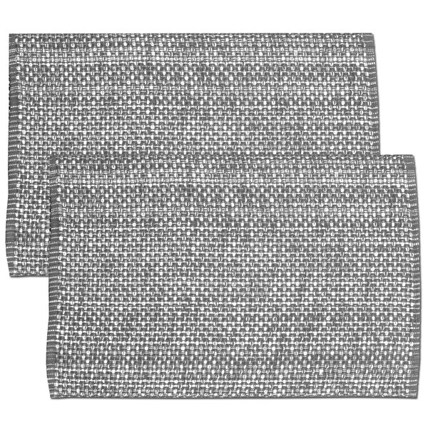 100% Cotton 2 Tone Placemat (Set of 2) by Sweet Home Collection